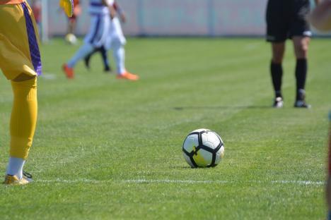 Fotbal: Luceafărul a surclasat-o pe Crişul Aleşd, într-un joc amical