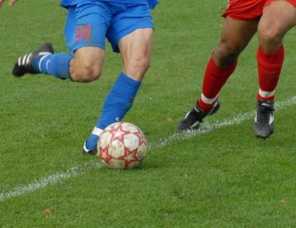 Turneul amical de fotbal Bihor - Hajdu-Bihar îşi desemnează miercuri câştigătoarea
