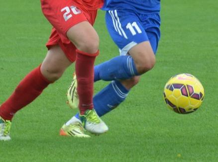 Luceafărul a cedat cu 1-2 amicalul cu Olimpia Satu Mare