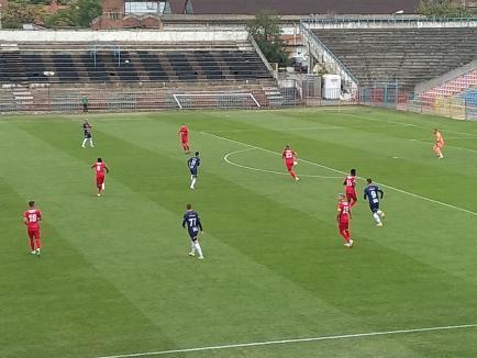 CA Oradea a părăsit onorabil Cupa României, după 0-1 cu FC Hermannstadt (FOTO)