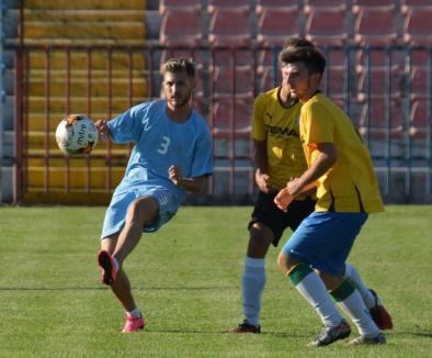 Noii victorii pentru echipele orădene de fotbal CAO și Dinamo Leonardo