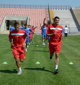 30 de jucători la primul antrenament al FC Bihor (FOTO)
