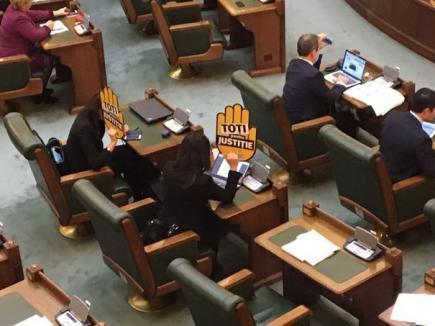 Proiectele de modificare a legilor justiţiei, adoptate de Parlament