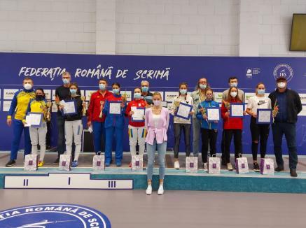 Orădeanca Andreea Muntean a câştigat Cupa României la spadă cadeţi