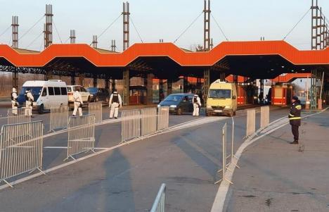 S-a stabilit: Navetiştii vor putea intra şi ieşi din ţară şi pe la frontiera Borş