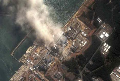 Un nou incendiu la centrala Fukushima. Alertă nucleară de gradul 6, personal evacuat
