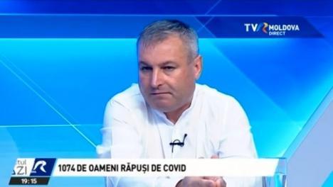 Declaraţii şocante făcute de şeful sănătăţii publice din Republica Moldova:'Covid a luat viaţa celor care şi aşa erau o povară pentru cei din jur' (VIDEO)