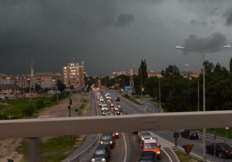 Revin furtunile în Bihor: Alertă meteo imediată de Cod galben de vreme rea