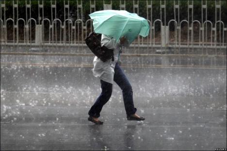Cod galben de ploi pentru judeţul Bihor!