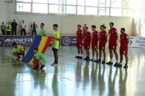 Echipa de futnet (tenis cu piciorul) a României a câştigat Cupa Naţiunilor, la Salonta (FOTO)