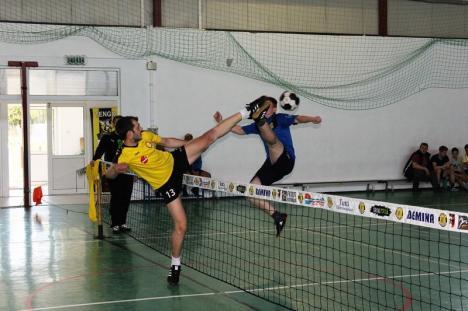 Tengo Salonta, din nou pe primul loc în Campionatul Naţional de Tenis cu piciorul