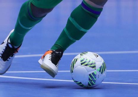 Dinamo Oradea a remizat în primul joc din returul Ligia a II-a la futsal