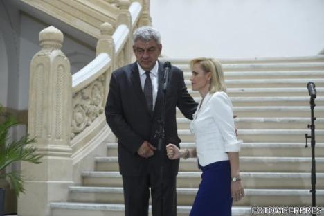 Scandal cu stenograme în PSD: Gabriela Firea și Liviu Pleșoianu sar la gâtul premierului Mihai Tudose