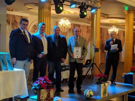 Gala Fotbalului Bihorean 2018: Mădălin Trip, cel mai bun jucător, Florin Fărcaş este antrenorul anului