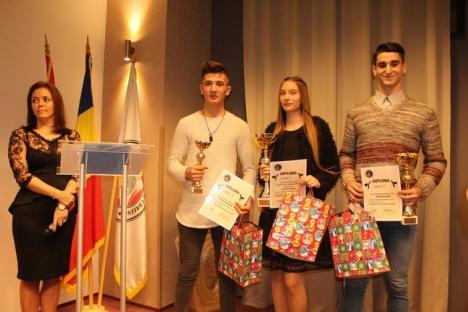 Denisa Cotuţ a fost desemnată cea mai bună sportivă a anului 2017 de la clubul King Do – Lions Oradea (FOTO)