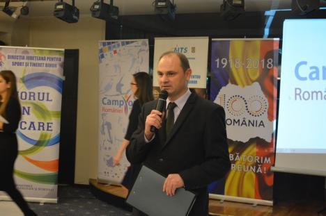 Spadasina Bianca Benea a fost desemnată cea mai bună sportivă a judeţului Bihor în 2018, iar CSM CSU Oradea, cea mai bună echipă! (FOTO)