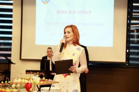 Cei mai activi voluntari din domeniul social au fost premiaţi de Direcția de Asistență Socială Oradea (FOTO)