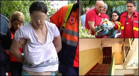 Caz şocant: O mamă depresivă a încercat să-şi omoare bebeluşul!