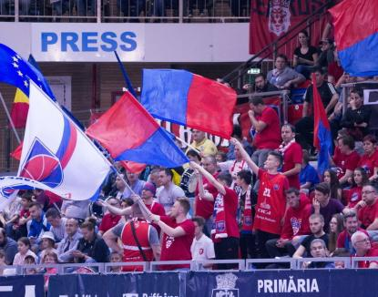 Începe play-off-ul: CSM CSU Oradea primește joi replica piteștenilor de la BCM U FC Argeș