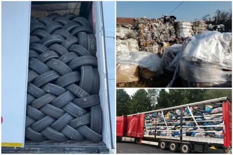Prefectul, după descoperirea a aproape 2.000 tone de deșeuri importate ilegal în județ: Nu pot accepta ca Bihorul să fie groapa de gunoi a Europei