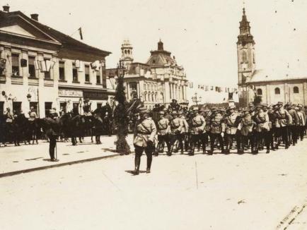 Onor la general! 99 de ani de la intrarea în Oradea a trupelor române conduse de generalul Traian Moşoiu