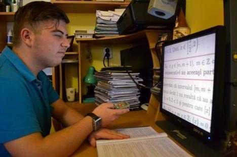 Îl puteţi ajuta: George Ilisie, elevul aproape orb care învaţă la Eminescu, are nevoie de încă o operaţie la Viena