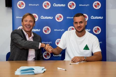A semnat cu Reading: George Pușcaș a fost cumpărat de la Inter Milano pentru 8 milioane de euro (FOTO / VIDEO)