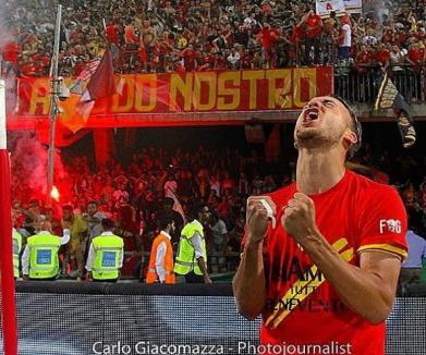 Orădeanul George Puşcaş a marcat golul promovării în Seria A pentru echipa Benevento (VIDEO)