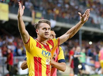 George Puşcaş a marcat ambele goluri pentru naţionala de tineret, la debutul în preliminariile Campionatului European