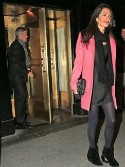 George Clooney s-a logodit cu o avocată britanică