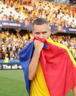 'Puşki'-gol! Golgheterul Naţionalei de tineret, bihoreanul George Puşcaş, a fost primit acasă cu aplauze şi şampanie (FOTO)