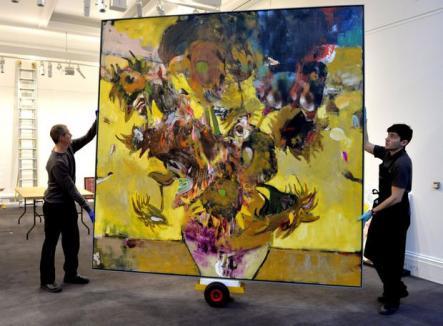Tabloul unui artist român a fost vândut cu 4 milioane de euro la Sotheby's