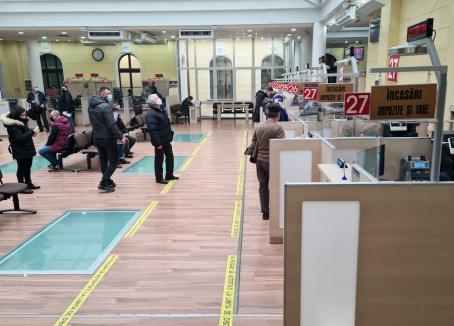 Primăria Oradea a calculat impozitele datorate de cetățeni și a reluat programul cu publicul