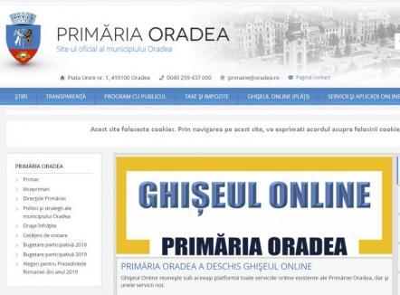 Un drum mai puțin! De acum, poți obține certificatul fiscal direct prin Ghișeul Online, pe site-ul Primăriei Oradea