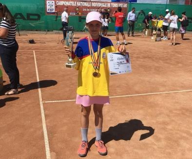 O nouă campioană naţională la tenis pentru CSM Oradea: Giulia Safina Popa