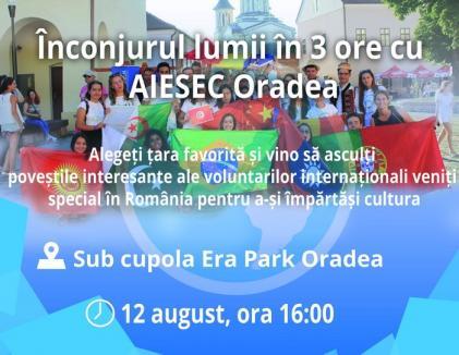 Global Village: Tineri din 15 ţări vin să îşi împărtăşească tradiţiile la ERA Park Oradea