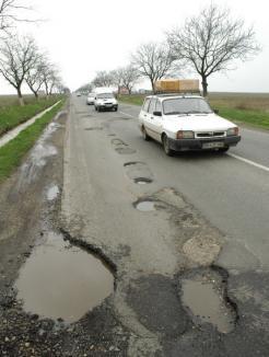 Cornel Popa: Gropile din drumurile bihorene fac inutile radarele nedetectabile ale Poliţiei Rutiere