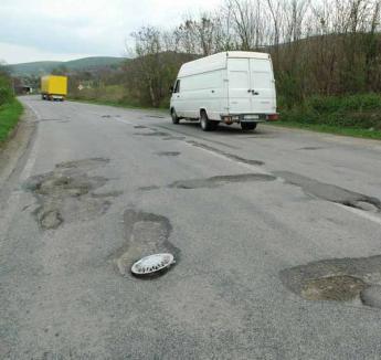 """Cornel Popa: """"Gropile din drumuri sunt o bucurie pentru Boc"""", ca să se poată juca """"de-a excavatoristul şi buldozeristul"""""""
