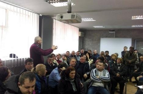 Nu negociem! Reprezentanţii ADP Oradea au refuzat încă o întâlnire cu pieţarii din Rogerius