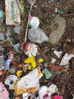 Ruşinos: Trei galerii de mină din Bihor, pline cu gunoaie. Primăria Bulz, amendată de comisarii de mediu (FOTO / VIDEO)