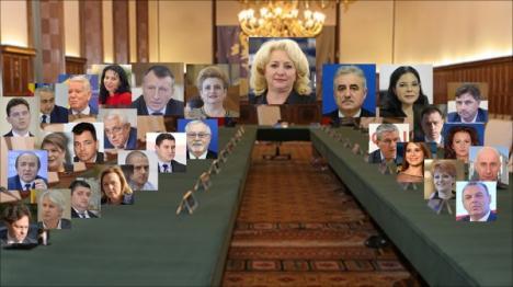 Miniştrii propuşi de Viorica Dăncilă au fost avizaţi de comisiile Parlamentului. UDMR va vota noul Guvern