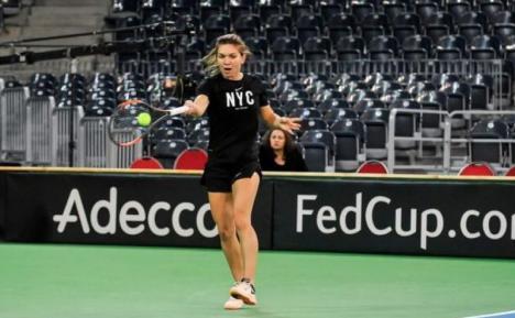 Simona Halep, în echipament Nike. Tenismena ar urma să primească 2 milioane de dolari anual de la noul ei sponsor tehnic