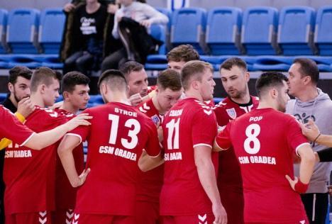 Handbaliştii de la CSM Oradea joacă luni la Sibiu