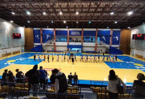 Victorie clară pentru CSM Oradea, în meciul de la Timişoara, cu SCM Poli II