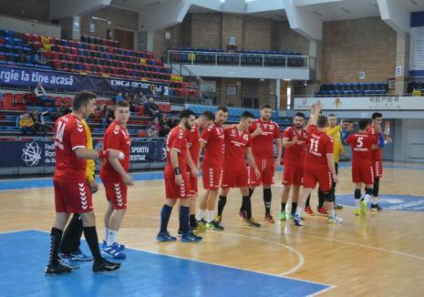 Echipa de handbal CSM Oradea susţine ultimul joc din deplasare din acest sezon, vineri, la Sighişoara