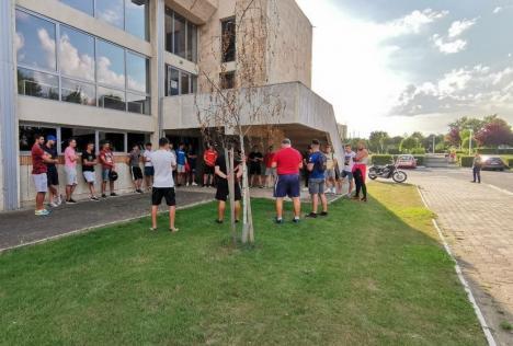Handbaliştii de la CSM Oradea au început pregătirile pentru noul sezon competiţional