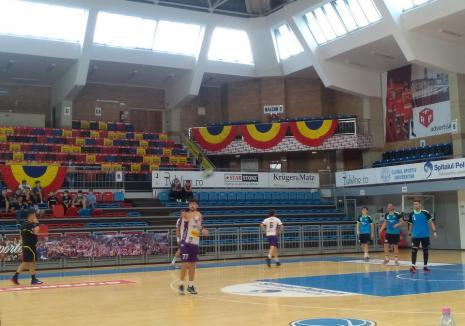 Victorie fără probleme pentru CSM Oradea în primul joc al noului sezon la handbal masculin