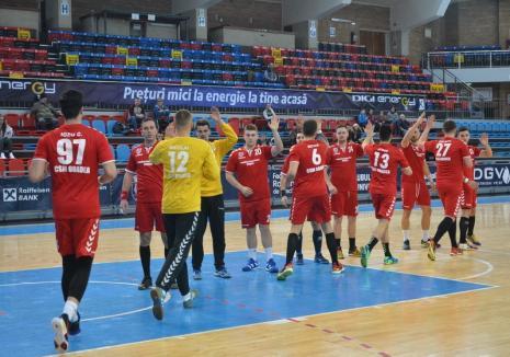 Handbal: CSM Oradea a învins Universitatea Craiova, a promovat în Liga Națională, dar nu va fi înscrisă în primul eșalon!