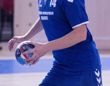 Handbaliştii de la CSM Oradea au câştigat jocul de la Timişoara din etapa a II-a a Diviziei A
