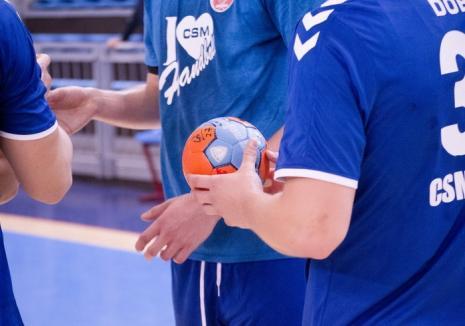 Handbaliştii de la CSM Oradea şi-au început seria amicalelor cu o dublă la Baia Mare